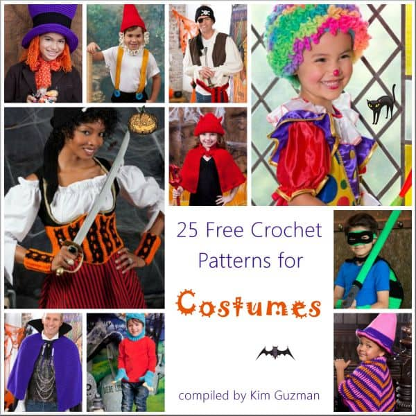 Link Blast 25 Free Crochet Patterns For Halloween Costumes