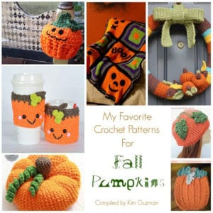 Link Blast: 10 Free Crochet Patterns for Fall Pumpkins