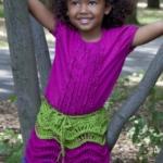 Girl's Salsa Party Skirt Free Crochet Pattern