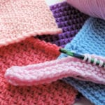 Tunisian Crochet: How to Stop the Curling Rolling