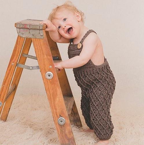 Harlequin Baby Pants by Jennifer Dougherty
