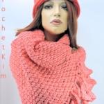 Mandarin Super Scarf Free Tunisian Crochet Pattern