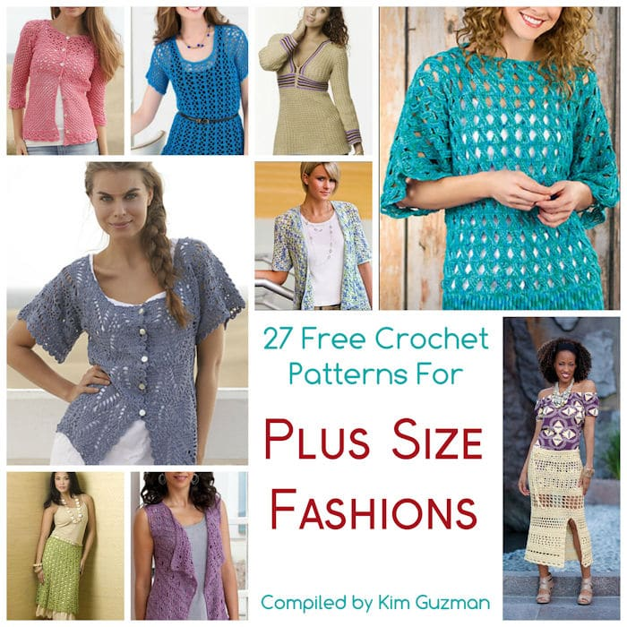 c92858ae2fd5 27 Free Crochet Patterns for Tops Tunics and Sweaters Available in ...