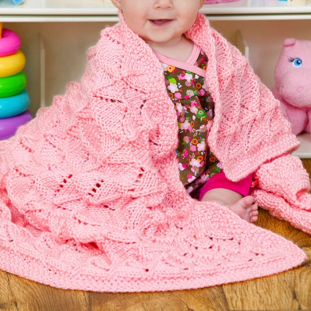 Precious Baby Blanket Free Knit Pattern