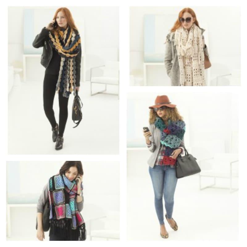 Link Blast: 14 Free Crochet Patterns for Super Scarves