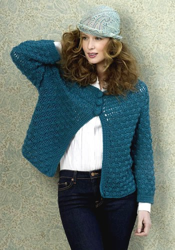 Free Crochet Pattern: Chicago Swing Jacket