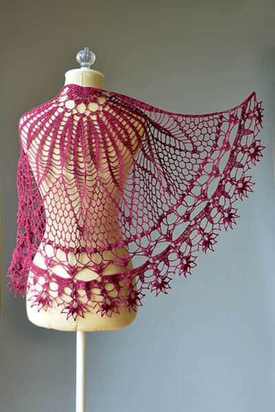 Free Crochet Pattern: Corona Shawl
