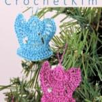 Mini Angel Ornaments Free Crochet Pattern