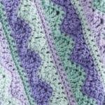 Summer Mist Throw Free Crochet Pattern