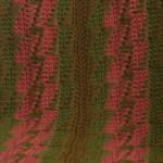 Bargello Throw Free Crochet Pattern