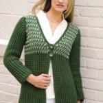 Empire Swing Jacket Free Crochet Pattern