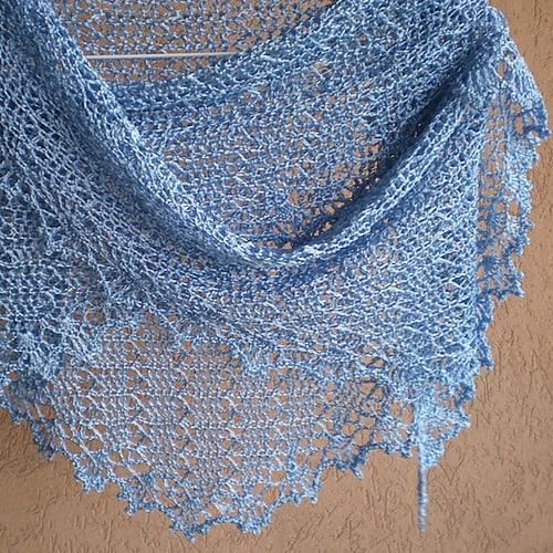 Free Crochet Pattern: Stitch Talks Shawl
