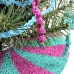 Carousel Mini Tree Skirt Free Crochet Pattern