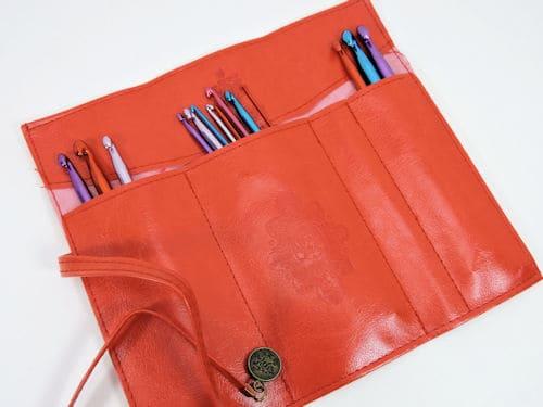 Make It Crochet Drawing: Faux Leather Crochet Hook Wallet