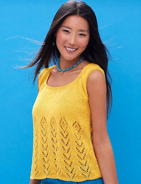 Free Knit Pattern: Sunny Days Tank