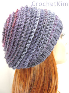 Easy Channel the Mind Beanie Free Crochet Pattern for Beginners