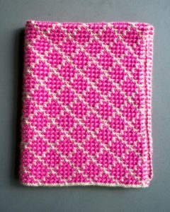 Free Knit Pattern: Mosaic Blanket