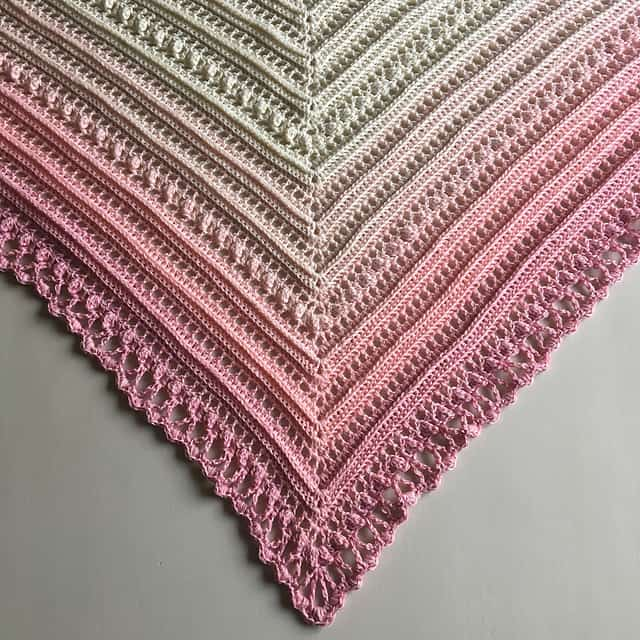 Secret Paths Shawl Free Crochet Pattern