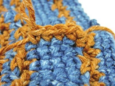 Speckled Cloche Hat CrochetKim Free Crochet Pattern