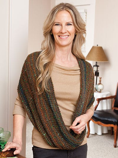 Kim Guzman Book: Learn Double-Ended Tunisian Crochet