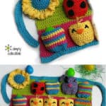 Free Crochet Pattern: Most Egg-cellent Spring Egg Apron