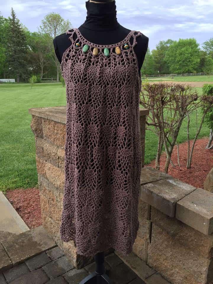 Fan Project Share: Pineapple Cascade Baby Dress
