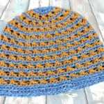 Speckled Beanie Hat Free Crochet Pattern