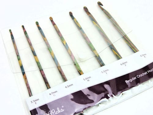 Make It Crochet Prize Drawing: 7 Piece Knit Picks Harmony Crochet Hook Set
