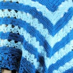 Lunar Crossings Poncho Free Crochet Pattern