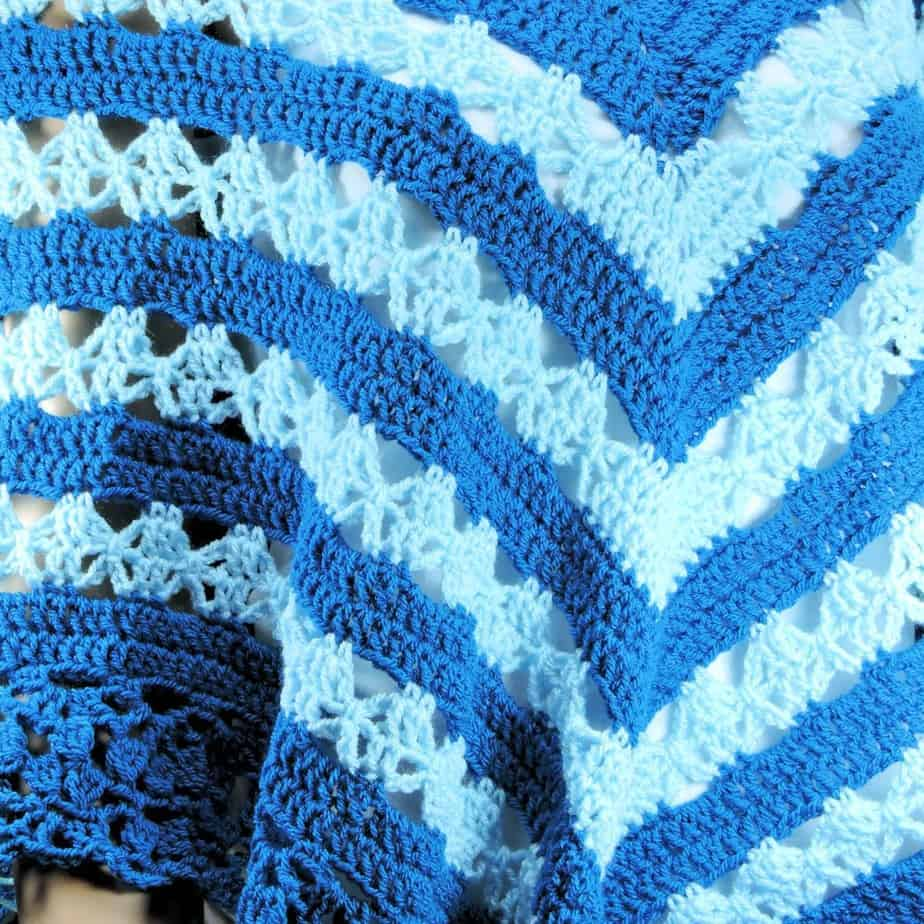 Lunar Crossings Poncho CrochetKim Free Crochet Pattern