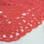 Cluster Lace Edging Free Crochet Pattern