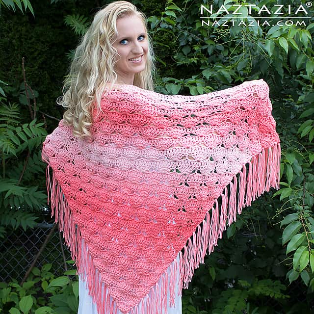 Free Crochet Pattern: Beachy Keen Shawl