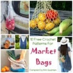 Link Blast: 10 Free Crochet Patterns for Market Bags