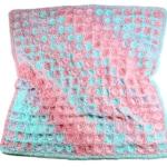 Spun Sugar Baby Blanket Free Crochet Pattern