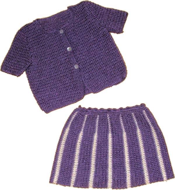 CrochetKim Free Crochet Pattern: The Bebe Collection: School Girl