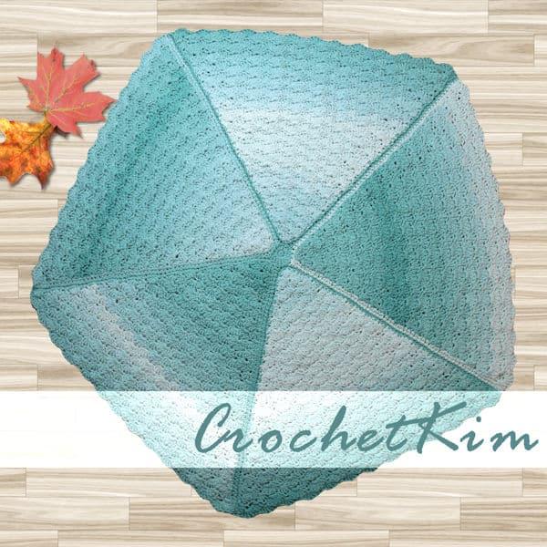Lucky Day Baby Blanket   CrochetKim Free Crochet Pattern
