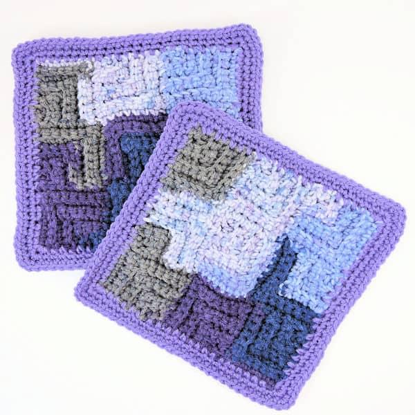 CrochetKim Free Crochet Pattern | Starry Night Baby Blanket @crochetkim
