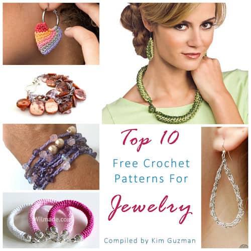Link Blast: Top 10 Free Crochet Patterns for Jewelry