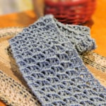 One Skein Wandering Arches Scarf Free Crochet Pattern