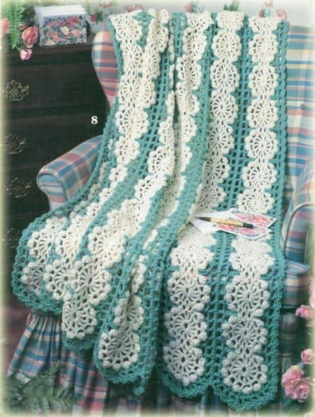 Mile A Minute Afghan from Pinterest Not By Kim Guzman