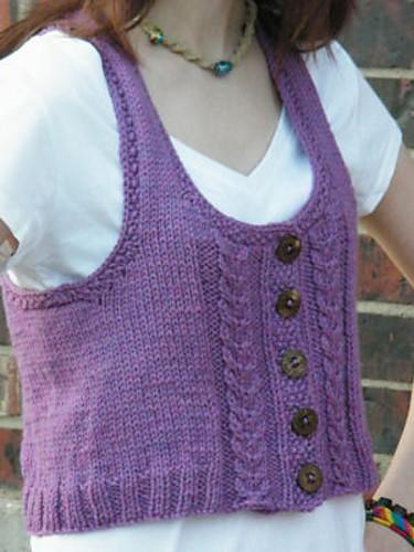 CrochetKim Free Knit Pattern | Liana Racerback Vest @crochetkim