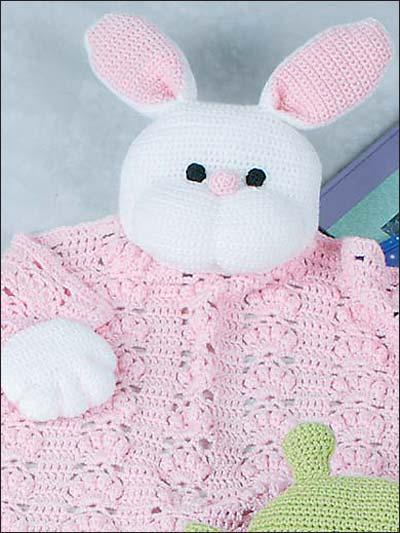 Free Crochet Pattern: Bunny Blanket Buddy