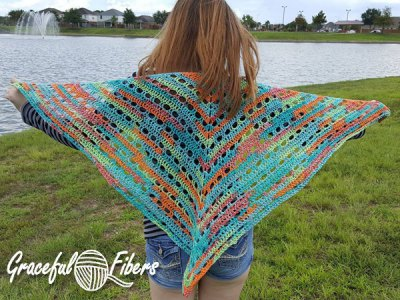 Free Crochet Pattern: Caraline Bella Shawl
