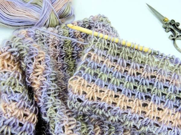CrochetKim Free Crochet Pattern   Eternal Spring Infinity Scarf @crochetkim
