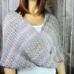 Eternal Spring Infinity Scarf Free Tunisian Crochet Pattern