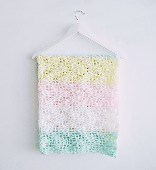 Free Crochet Pattern: Hopscotch Blanket