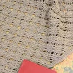 Romantic Lattice Throw Free Crochet Pattern