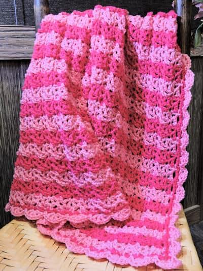 CrochetKim Free Crochet Pattern   Tenga Venga Baby Blanket @crochetkim