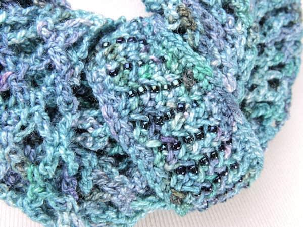 CrochetKim Free Crochet Pattern | Astral Bay Scarf @crochetkim