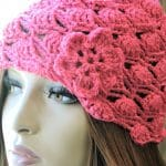 Dakota Belle Beanie 4 Sizes CrochetKim Free Crochet Pattern